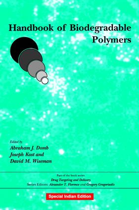 Handbook of Biodegradable Polymers: 1st Edition (Hardback) book cover