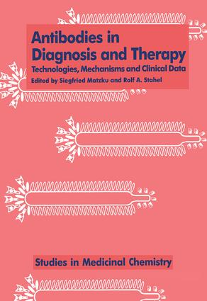 Antibodies in Diagnosis and Therapy: 1st Edition (Hardback) book cover