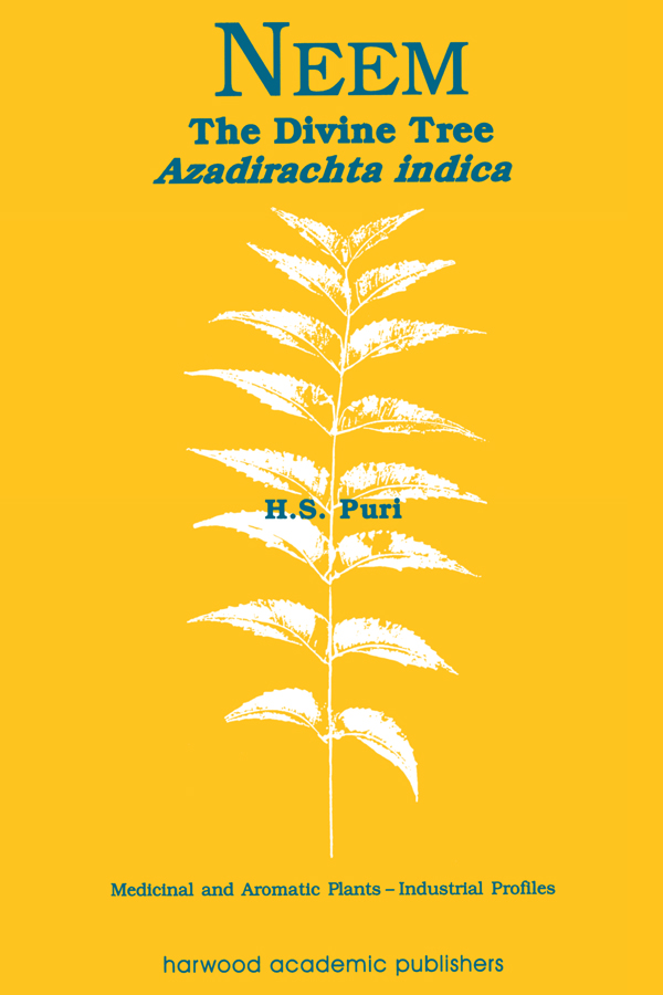 Neem: The Divine Tree Azadirachta indica book cover