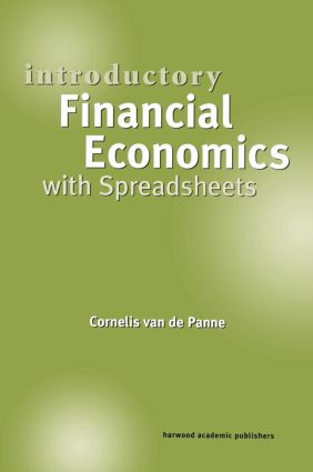 Introductory Financial Economics with Spreadsheets: 1st Edition (Paperback) book cover