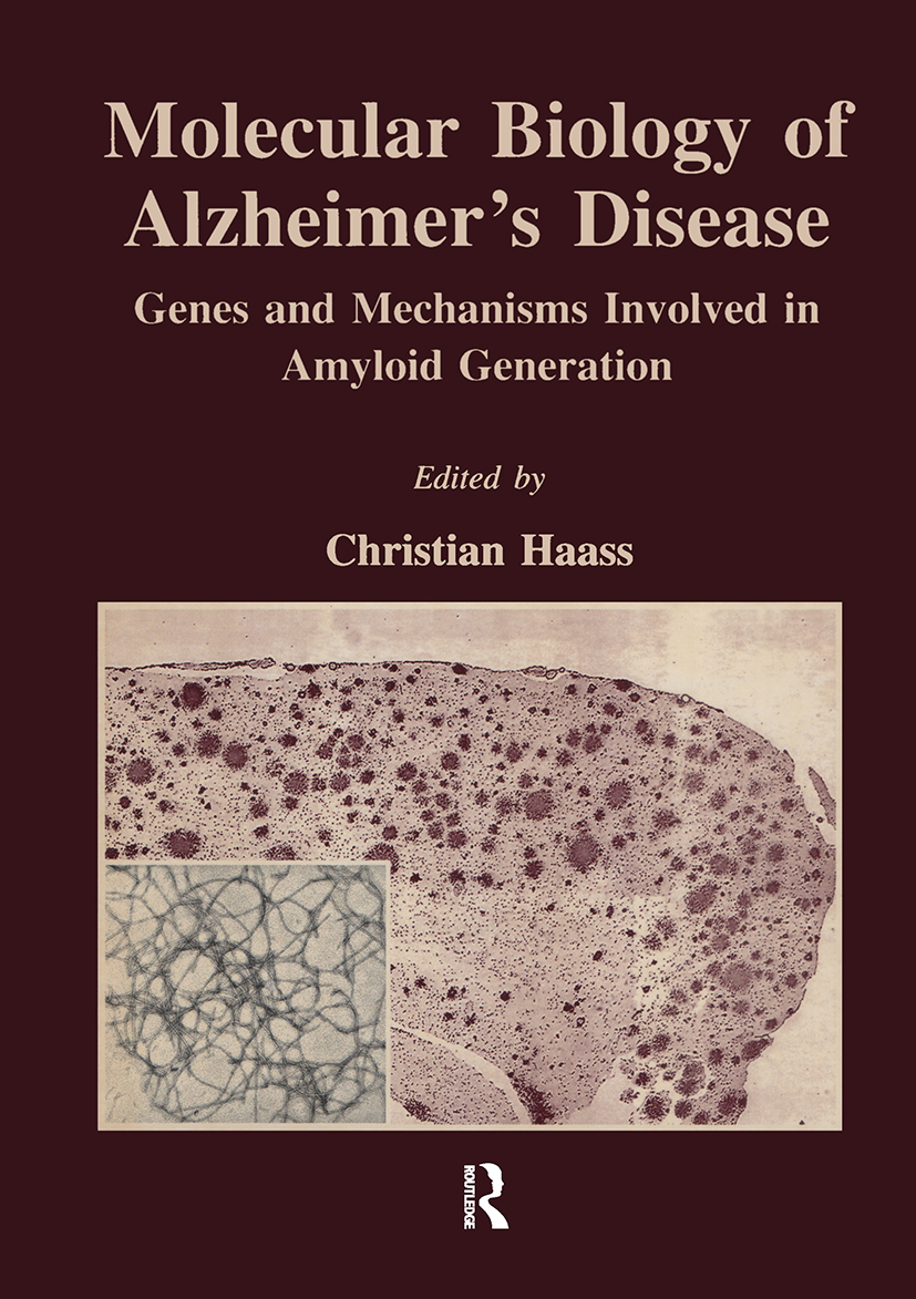 Molecular Biology of Alzheimer's Disease: Genes and Mechanisms Involved in Amyloid Generation, 1st Edition (Hardback) book cover