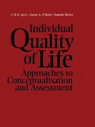 Individual Quality of Life: 1st Edition (Hardback) book cover