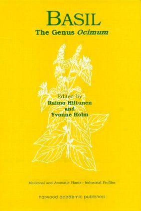 Basil: The Genus Ocimum book cover