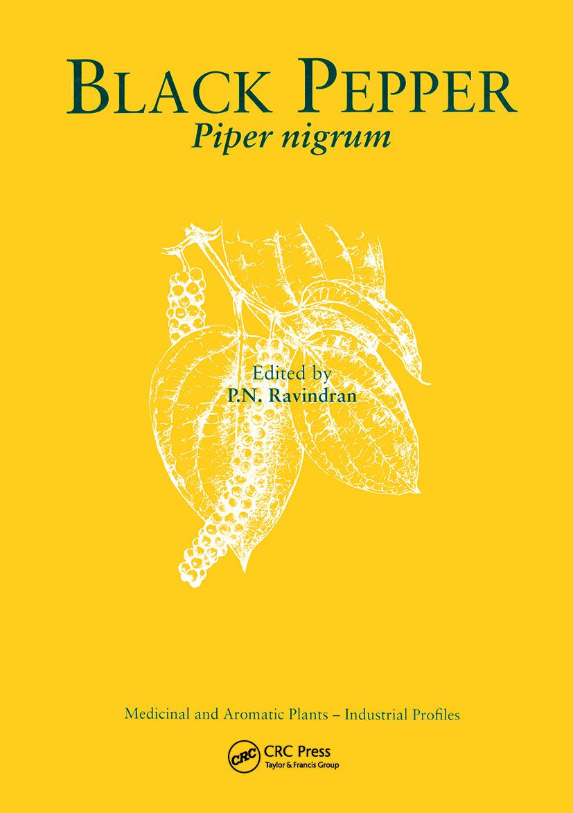 Black Pepper: Piper nigrum book cover