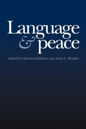 Language & Peace: 1st Edition (Paperback) book cover