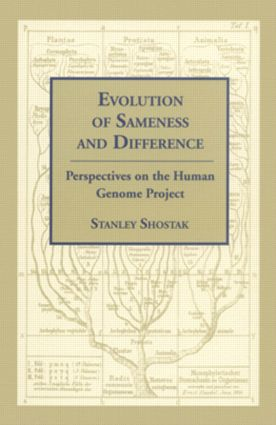 Evolution of Sameness and Difference: 1st Edition (Paperback) book cover