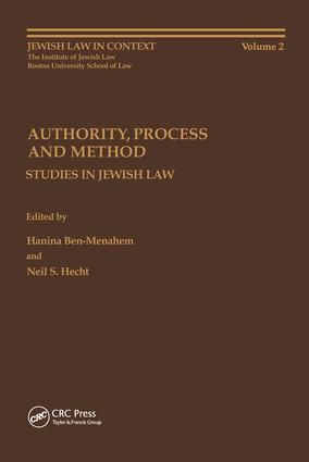 Authority, Process and Method: 1st Edition (Hardback) book cover
