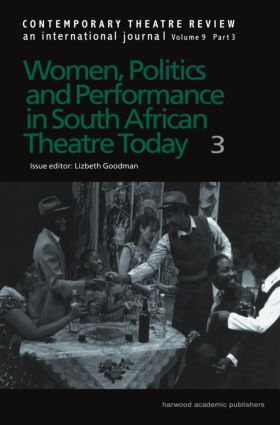 Women, Politics and Performance in South African Theatre Today Vol 3 book cover