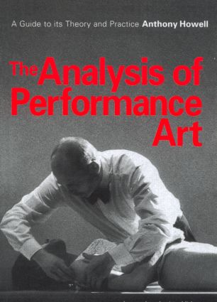 The Analysis of Performance Art