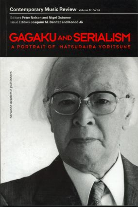 Gagaku and Serialism book cover
