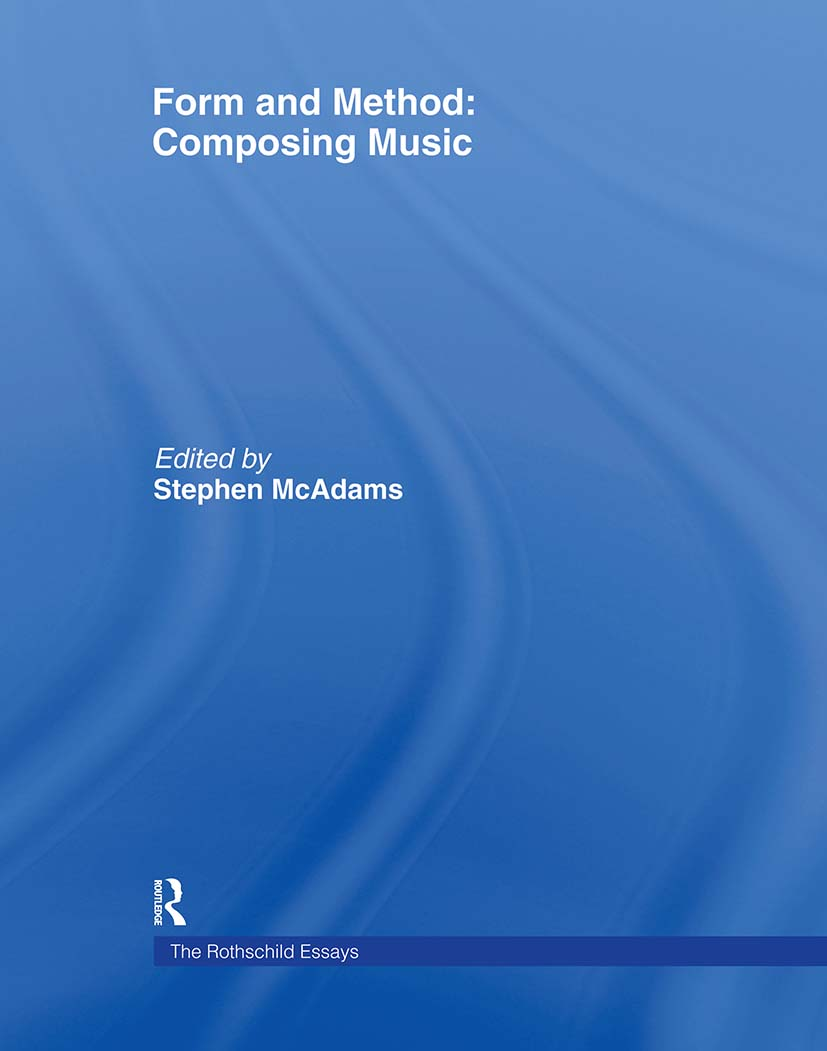 Form and Method: Composing Music