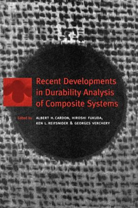 Recent Developments in Durability Analysis of Composite Systems: 1st Edition (Hardback) book cover