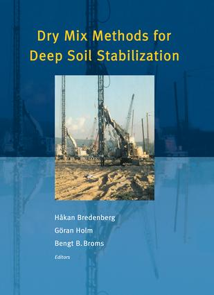 Dry Mix Methods for Deep Soil Stabilization: 1st Edition (Hardback) book cover