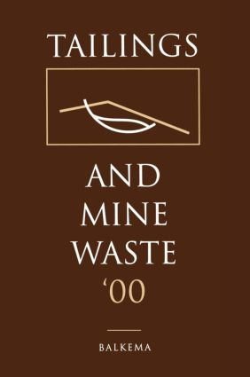 Tailings and Mine Waste 2000: 1st Edition (Hardback) book cover