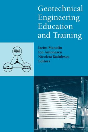 Geotechnical Engineering Education and Training: 1st Edition (Hardback) book cover