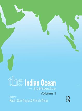 The Indian Ocean - A Perspective: Volume 1, 1st Edition (Hardback) book cover