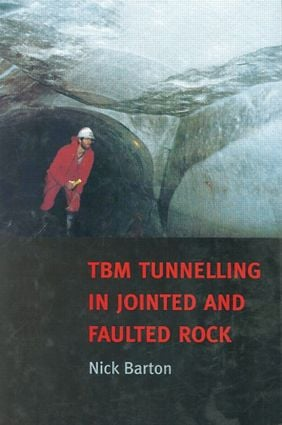 TBM Tunnelling in Jointed and Faulted Rock: 1st Edition (Hardback) book cover