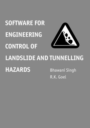 Software for Engineering Control of Landslide and Tunnelling Hazards: 1st Edition (Hardback) book cover