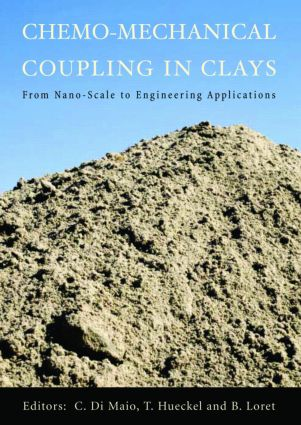 Chemo-Mechanical Coupling in Clays: From Nano-scale to Engineering Applications: Proceedings of the Workshop, Maratea, 38-30 June 2001, 1st Edition (Hardback) book cover