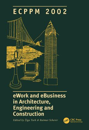 eWork and eBusiness in Architecture, Engineering and Construction: 1st Edition (Hardback) book cover