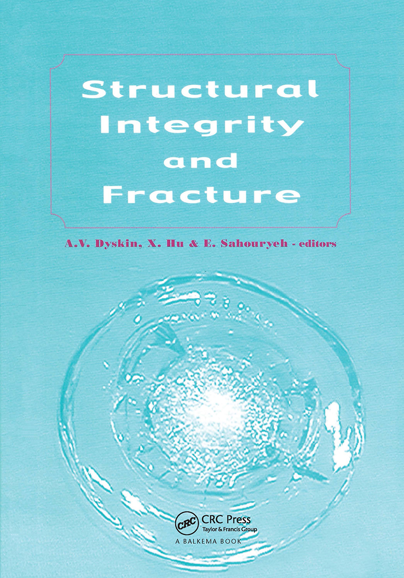Structural Integrity and Fracture: Proceedings of the International Conference, SIF 2002, Perth, Australia, 25-28 September 2002, 1st Edition (Hardback) book cover