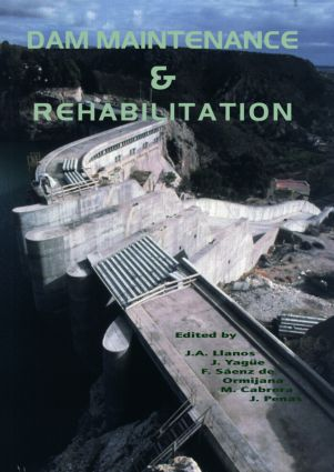 Dam Maintenance and Rehabilitation: Proceedings of the International Congress on Conservation and Rehabilitation of Dams, Madrid, 11-13 November 2002, 1st Edition (Hardback) book cover