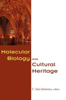 Molecular Biology and Cultural Heritage: 1st Edition (Hardback) book cover