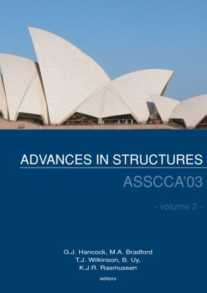 Advances in Structures: Proceedings of the ASSCCA 2003 Conference, Sydney, Australia 22-25 June 2003, 1st Edition (Hardback) book cover