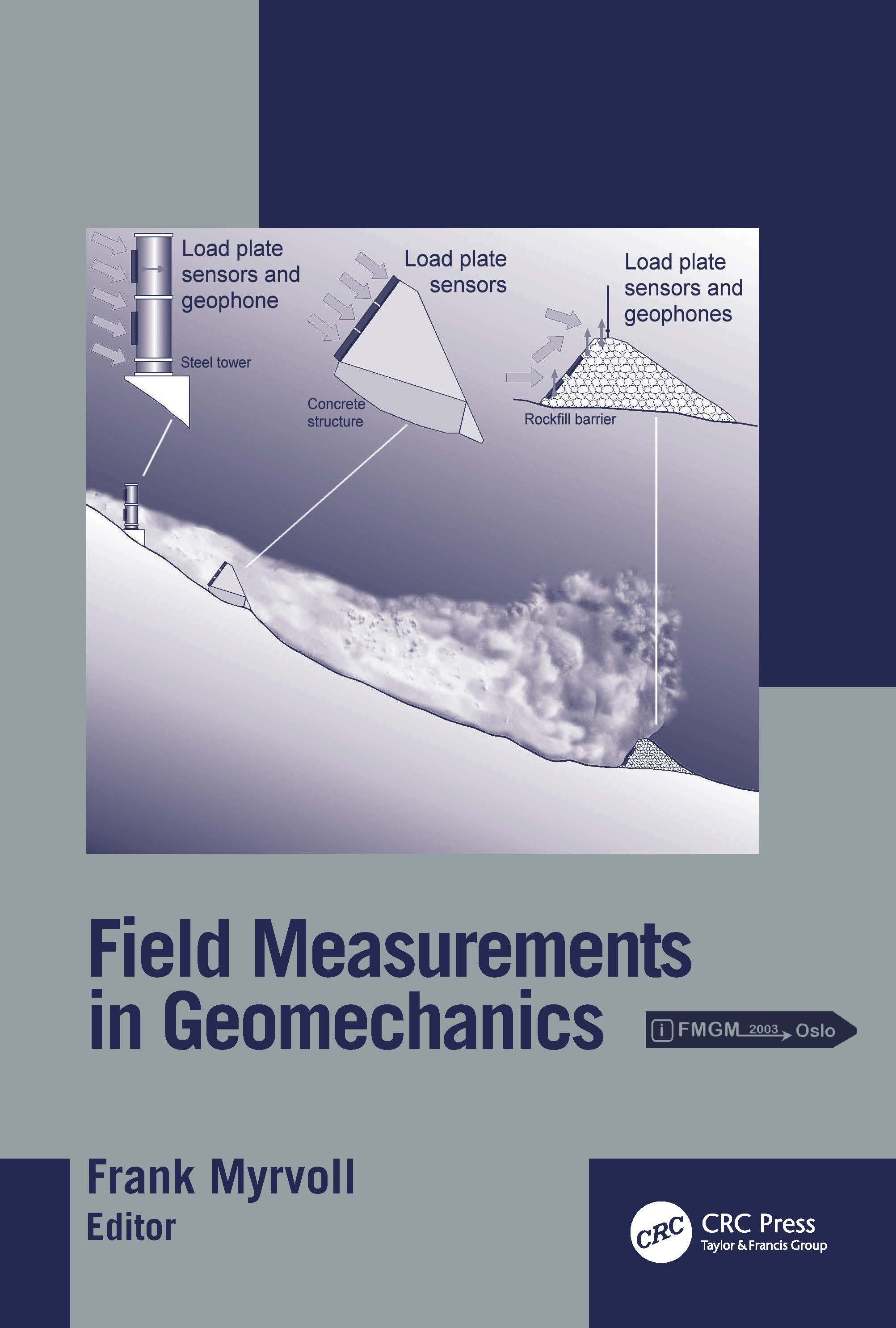 Field Measurements in Geomechanics: Proceedings of the 6th International Symposium, Oslo, Norway, 23-26 September 2003, 1st Edition (Hardback) book cover