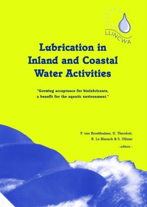 Lubrication in Inland and Coastal Water Activities: 1st Edition (Hardback) book cover