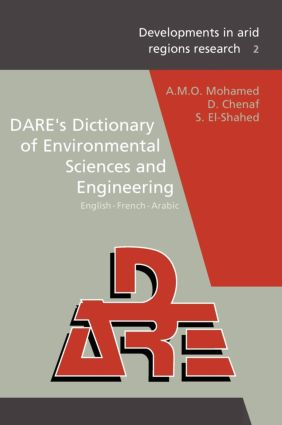 DARE's Dictionary of Environmental Sciences and Engineering: 1st Edition (Hardback) book cover
