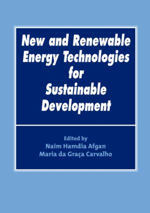 New and Renewable Energy Technologies for Sustainable Development: 1st Edition (Hardback) book cover