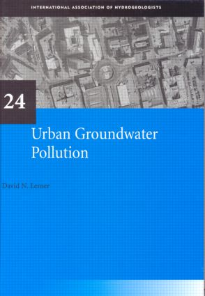 Urban Groundwater Pollution: IAH International Contributions to Hydrogeology 24 book cover