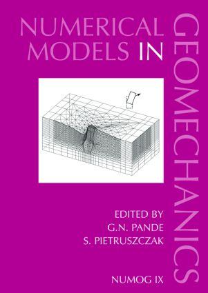 Numerical Models in Geomechanics: Proceedings of the Ninth International Symposium on 'Numerical Models in Geomechanics - NUMOG IX', Ottawa, Canada, 25-27 August 2004, 1st Edition (Hardback) book cover