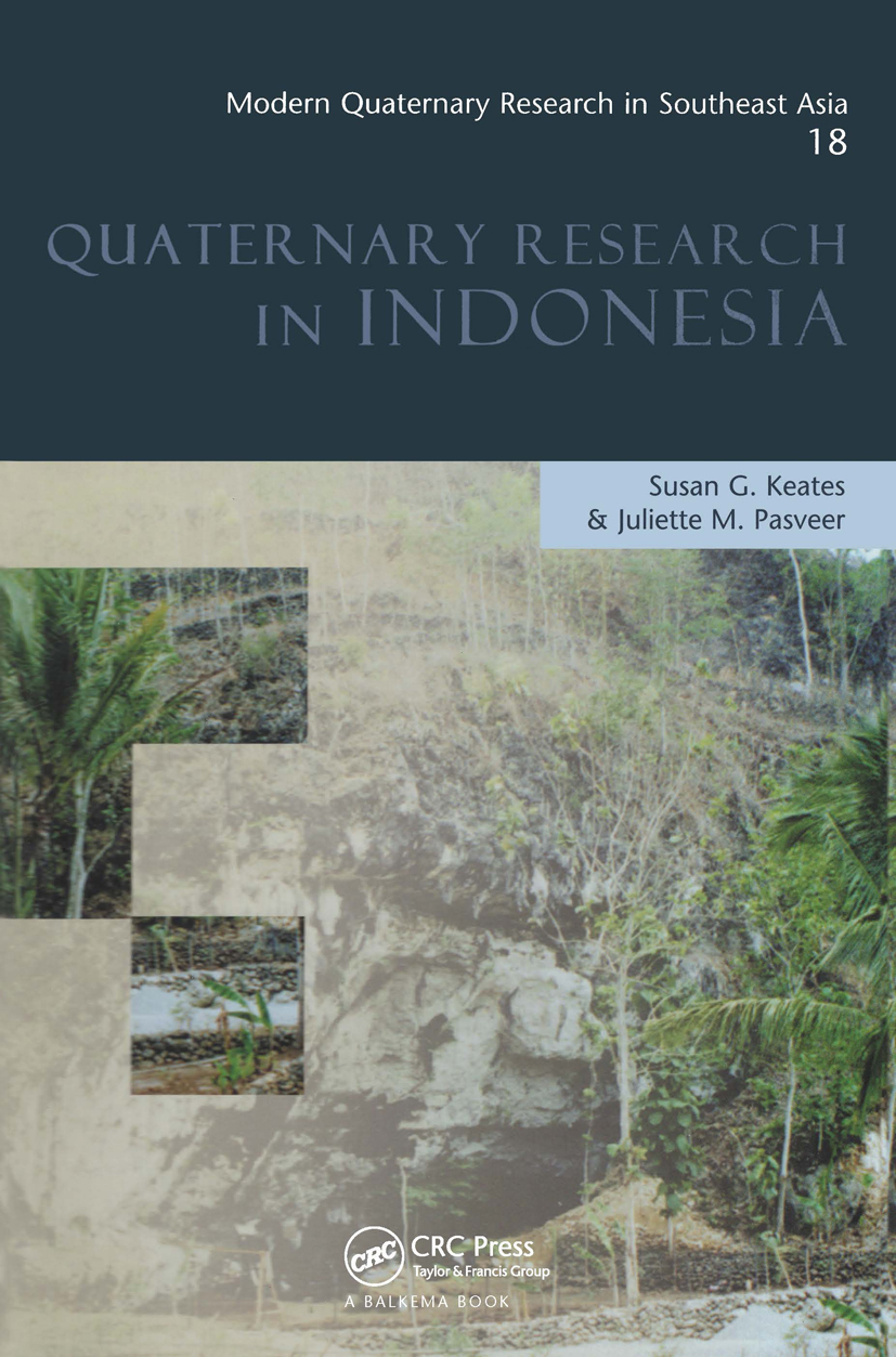 Modern Quaternary Research in Southeast Asia, Volume 18: Quaternary Research In Indonesia (Hardback) book cover