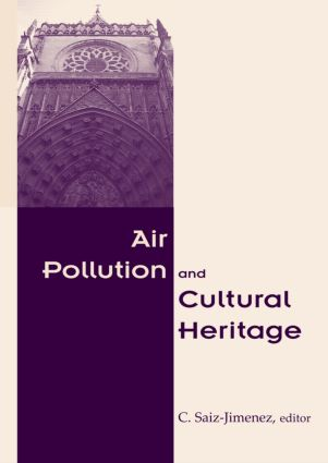 Air Pollution and Cultural Heritage: 1st Edition (Hardback) book cover