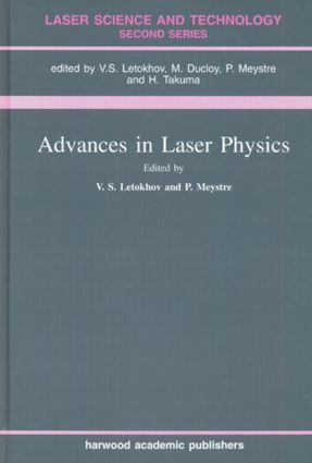 Advances In Laser Physics: 1st Edition (Hardback) book cover