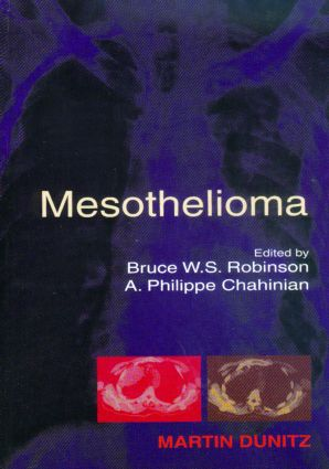 Mesothelioma: 1st Edition (Hardback) book cover