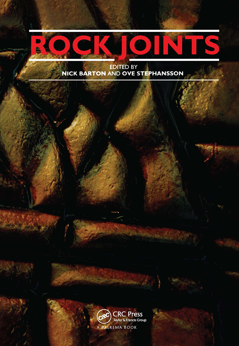 Rock Joints: Proceedings of a regional conference of the International Society for Rock Mechanics, Loen, 4-6 June 1990, 1st Edition (Hardback) book cover