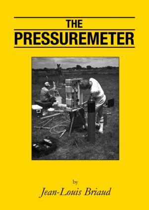 The Pressuremeter: 1st Edition (Hardback) book cover