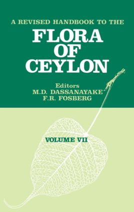 A Revised Handbook of the Flora of Ceylon - Volume 7: 1st Edition (Hardback) book cover