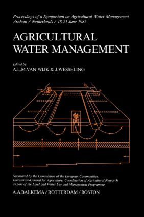 Agricultural Water Management (Hardback) book cover