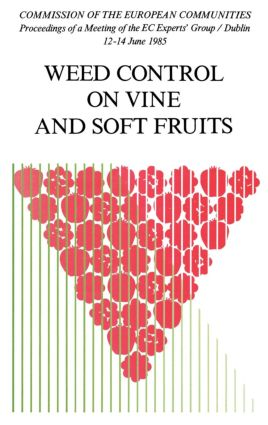 Weed Control on Vine and Soft Fruits (Hardback) book cover