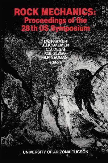 Rock Mechanics: Proceedings of the 28th US Symposium, 1st Edition (Hardback) book cover