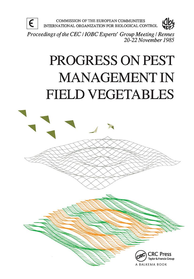 Progress on Pest Management in Field Vegetables: 1st Edition (Hardback) book cover