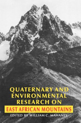 Quaternary and Environmental Research on East African Mountains (Hardback) book cover