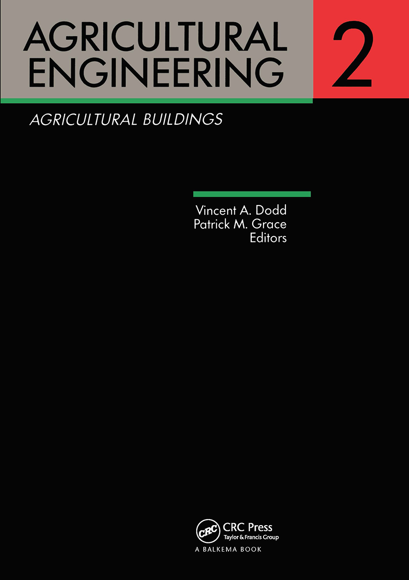Agricultural Engineering Volume 2: Agricultural Buildings: Proceedings of the Eleventh International Congress on Agricultural Engineering, Dublin, 4-8 September 1989, 1st Edition (Hardback) book cover