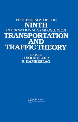 Proceedings of the Ninth International Symposium on Transportation and Traffic Theory: Delft, 1984, 1st Edition (Hardback) book cover