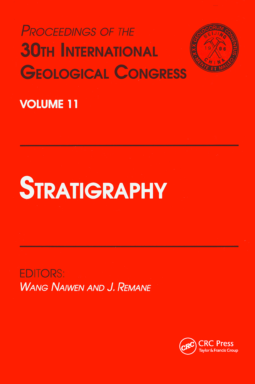 Stratigraphy: Proceedings of the 30th International Geological Congress, Volume 11, 1st Edition (Hardback) book cover