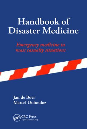 Handbook of Disaster Medicine: 1st Edition (Hardback) book cover
